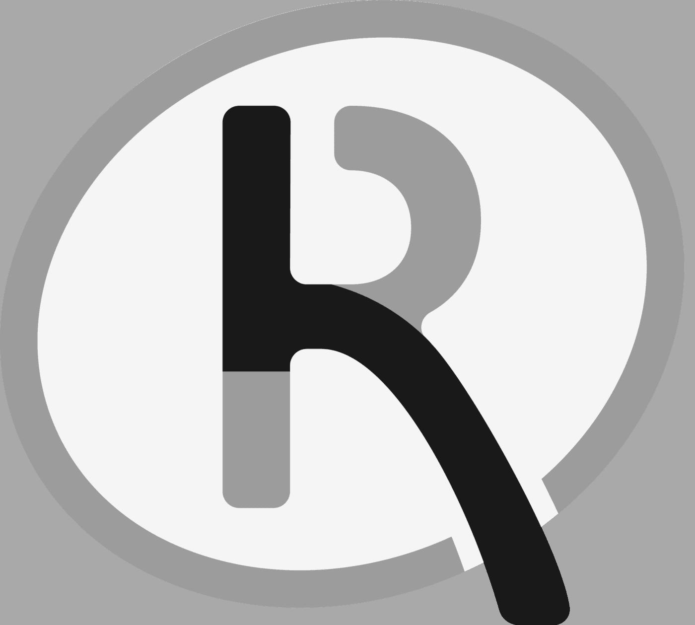 recombia brandmark grayscale