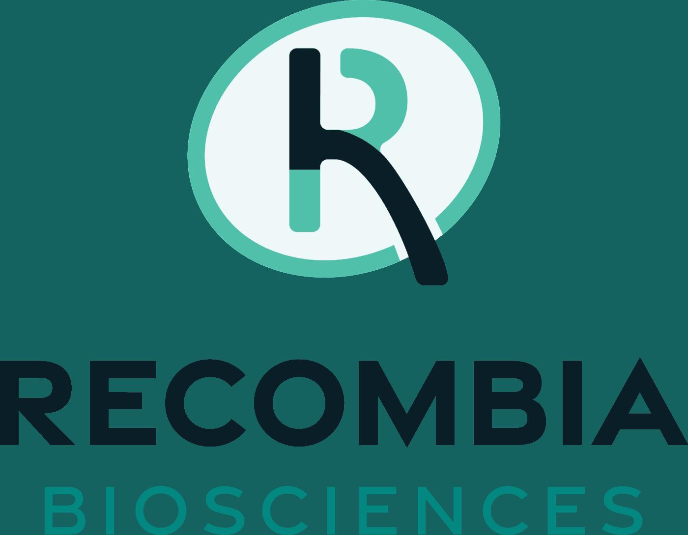 recombia vertical logo color