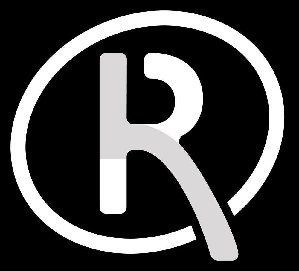 Recombia Biosciences Brandmark Reversed Dark BG